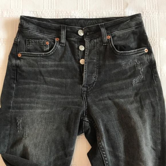 femme prix incroyables nouveau produit Tregging Jean H&M Noir Femmes: vêtements Vêtements ...